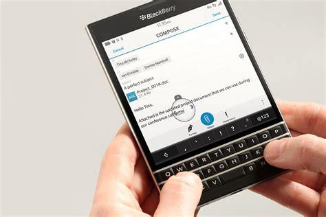 passport mobile four new smartphones in blackberry s future digital trends