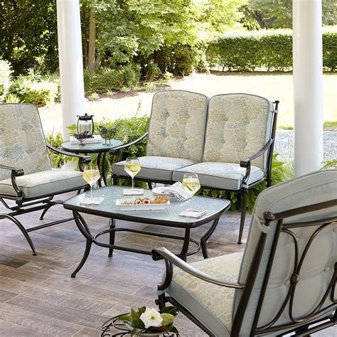 casual patio furniture sets amelia 4 seating set limited availability outdoor living patio furniture casual