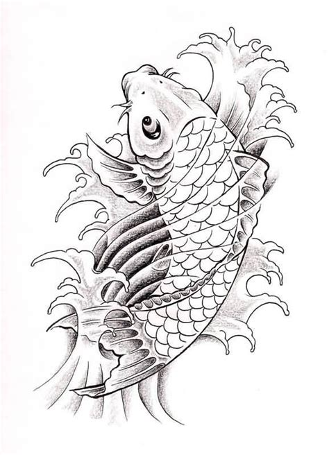 tattoo designs coy fish koi fish drawing best design jpg 578 215 800 koi