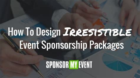 event design packages 27 best images about sponsorship ideas on pinterest