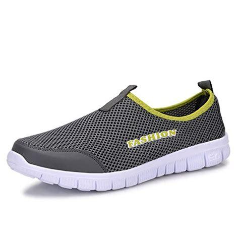 comfortable walking tennis shoes welmee men s breathable comfortable sneakers lightweight
