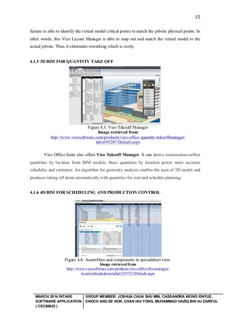 vico layout manager software application group assignment