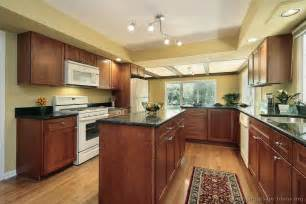kitchen wall colors with cherry cabinets pictures of kitchens traditional medium wood kitchens cherry color page 3