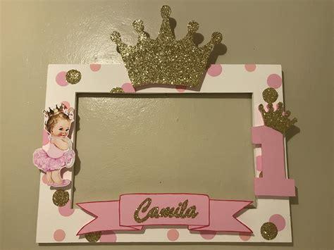Baby Boat Princess princess crown photobooth frame princess