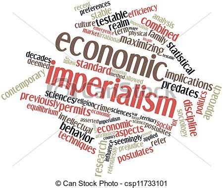 Vector Artwork Definition by Stock Illustration Of Economic Imperialism Abstract Word