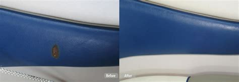 Boat Leather Upholstery by Boat Seat Repair Plastic Molding Restoration Fibrenew