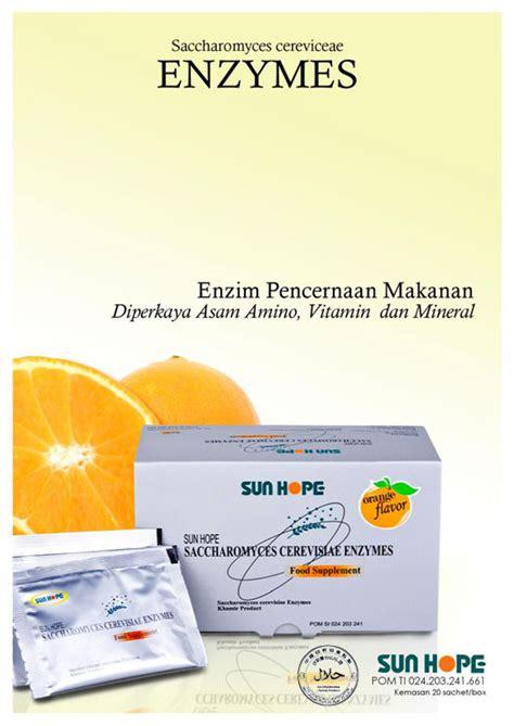 Suplemen Enzim Pencernaan Produk Sun Indonesia