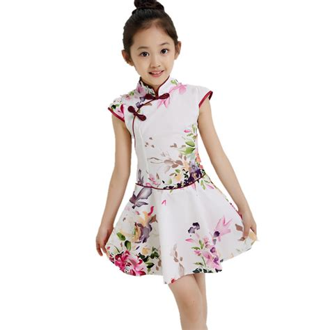 Dress Anak 1 3 T 1 13t baby dress casual teenagers performance costume clothes vestidos summer dress