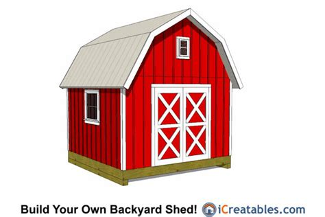 12x12 Garage Door 12x12 Shed Plans Build Your Own Storage Lean To Or Garage Shed
