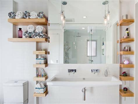 badezimmer t lösung wandregale f 252 r badezimmer praktische moderne badeinrichtung