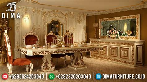 Meja Makan Klasik meja makan jepara mewah meja makan klasik mebel mewah