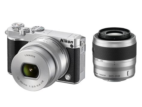 nikon 1 j5 digital 10 30mm 30 110mm zoom kit silver ebay