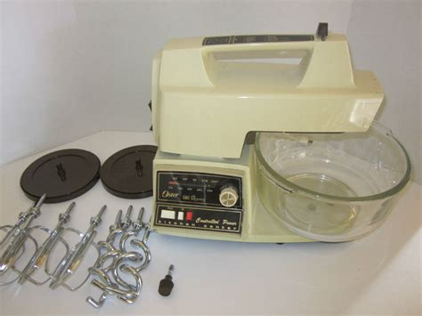 vintage oster kitchen center mixer blender for parts