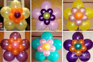 modern interior balloons decorations bouquets