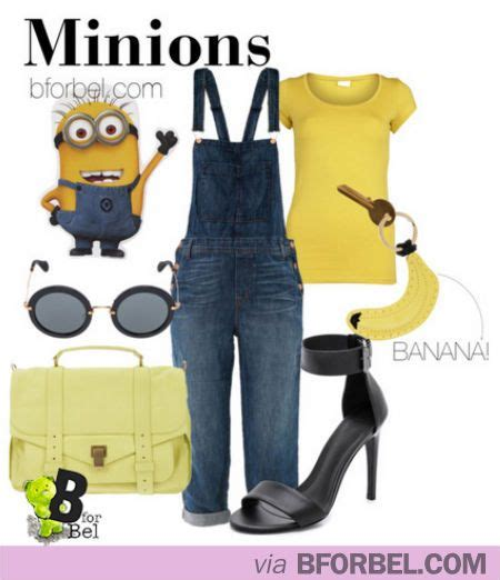 Kaos Minion Banana By Clothserto 266 best inspired by characters images on disney inspired
