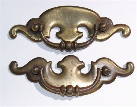 Antique Drawer Pulls And Handles by Set Of 2 Metal Drawer Pulls Vintage Drawer Handles Hardware
