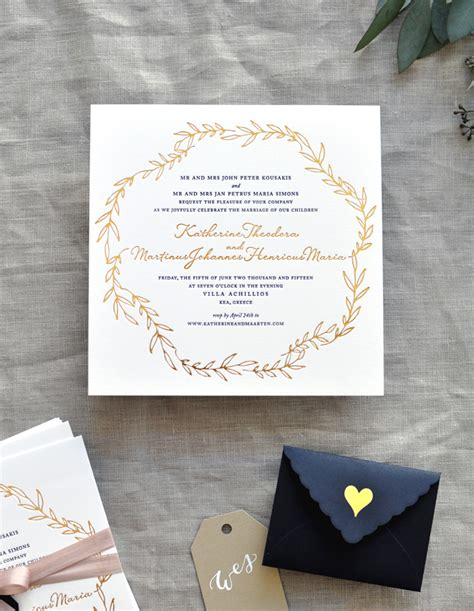 black white and gold wedding invitations black white and gold foil destination wedding invitations