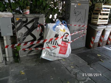 ufficio messi comune di messi in sicurezza rifiuti a rischio abbandonati su via