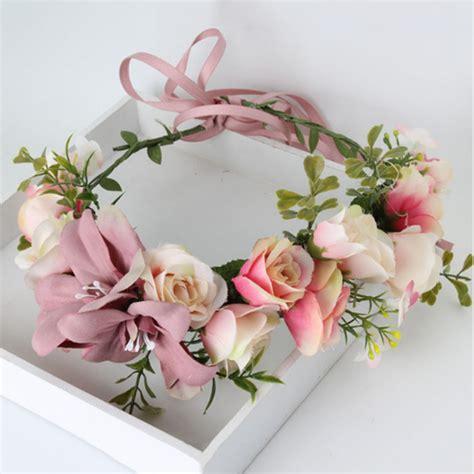 Per Unas Silk Floral Handbag by Buy Wholesale Flower Headpiece From China