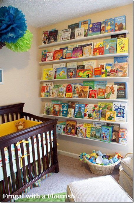 nursery bookshelf all about
