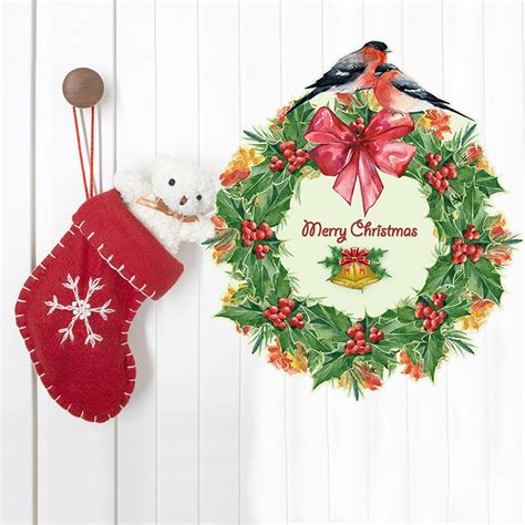 online get cheap plastic christmas wreaths aliexpress com