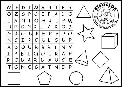 figuras geometricas juegos gratis las matem 225 ticas en primaria sopa de letras de figuras