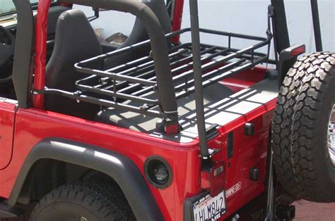 Jeep Tj Cargo Rack by Olympic 4x4 Products Mountaineer Rack For Jeep Wrangler Tj