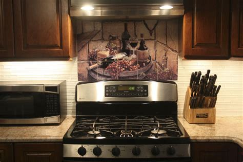 Decorative tile backsplash   Kitchen tile ideas   JK