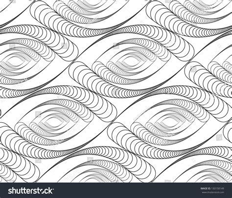 seamless eye pattern abstract seamless pattern with eye like figures black and