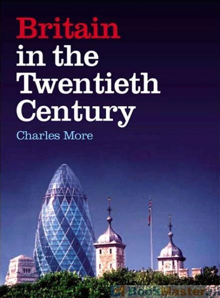 literatura obcojęzyczna britain in the twentieth century w