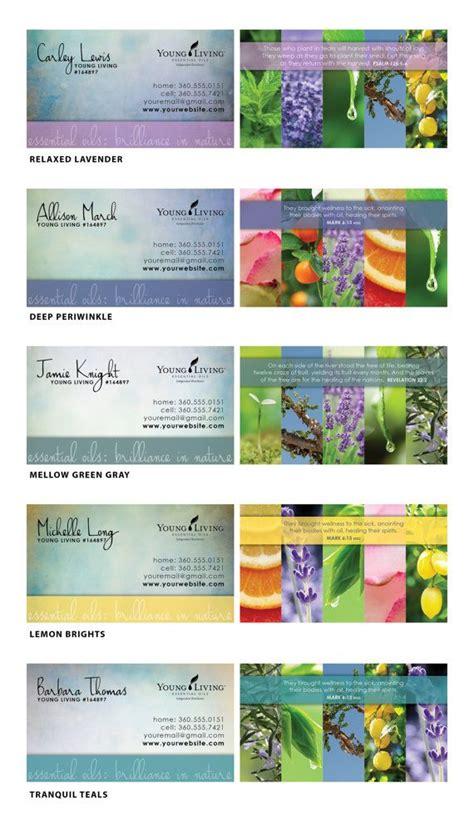 Living Distributor Business Cards