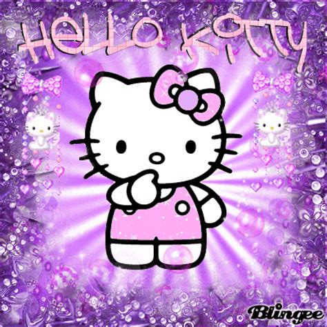 wallpaper hello kitty begerak hello kitty x conki picture 116076079 blingee com