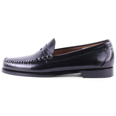 bass mens loafers bass larson mens loafers in black