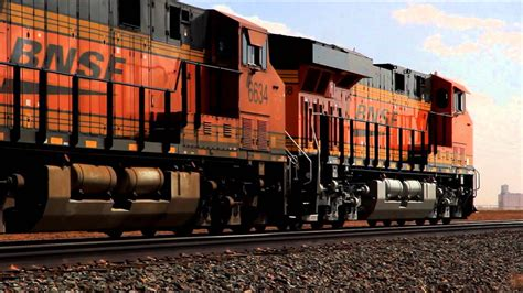 bnsf freight trains youtube