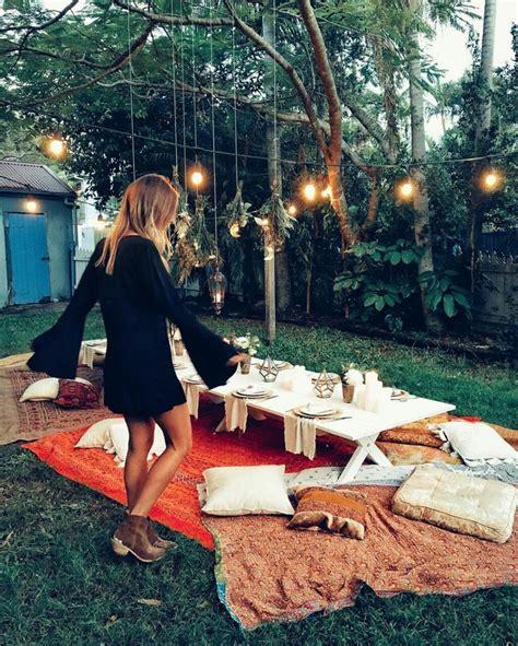 backyard picnic ideas best 25 backyard bonfire ideas on