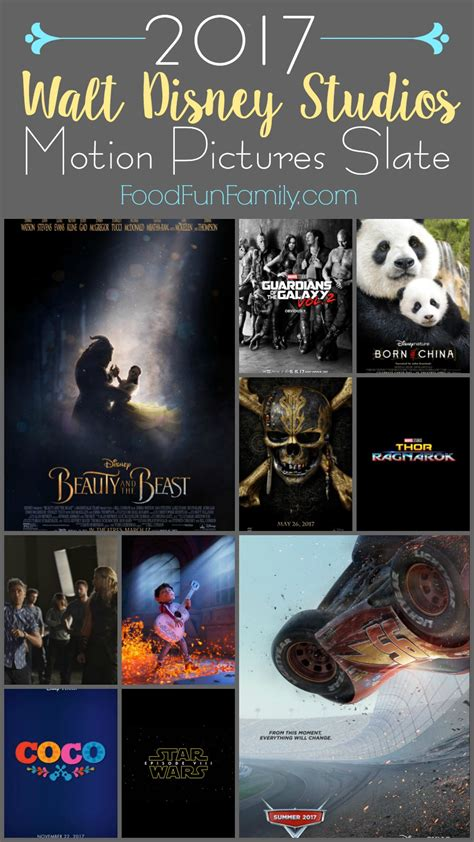 disney film slate 2017 2017 walt disney studios motion pictures slate
