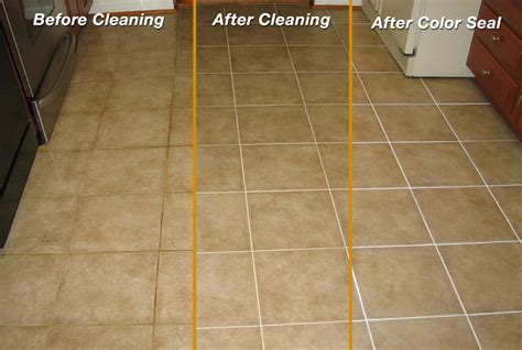 Tile & Grout Color Seal   X Treme Carpet & Upholstery