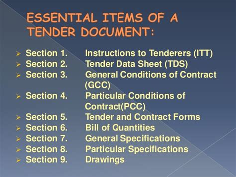 gcc for design and build contract tender document
