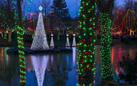 cleveland lights at the zoo picture ohio lighting displays