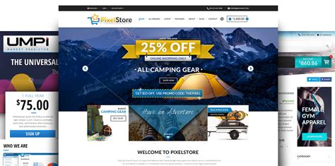 design of online shopping website thepixel full service ecommerce website design solutions