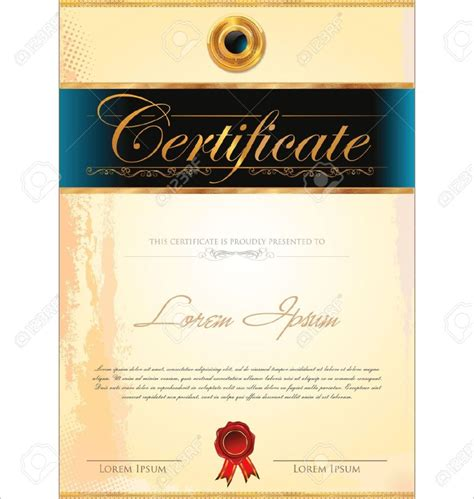 design certificate format home design certificate design stock photos images