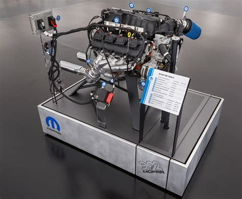 392 Hemi Crate Engine by Mopar Performance 392 Crate Hemi Engine