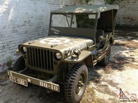 1942 Ford Gpw Jeep Ww2 Willys Mb