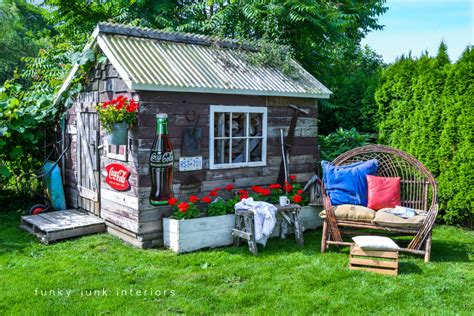 Creative Garden Sheds by 15 Creative Outdoor Sitting Areas And How To Make