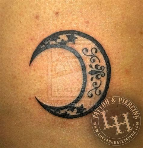 best 25 crescent moon tattoos 17 best ideas about crescent moon tattoos on
