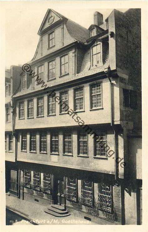 goethe haus frankfurt historische ansichtskarten frankfurt am 02