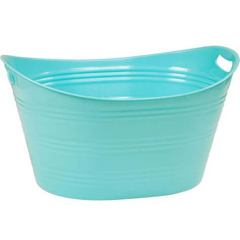 plastic bathtubs plastic beverage tub in storage tubs and buckets