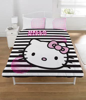 Seprei Bed Cover Hello White Black september 2011 hello forever