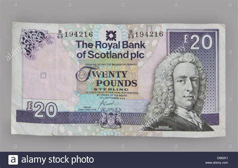 scottish bank notes scottish sterling bank notes money 163 20 twenty pounds