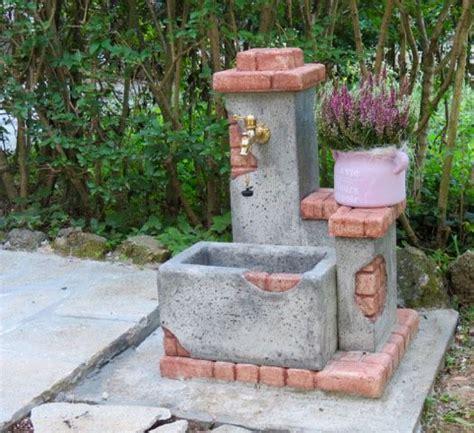 fontane in granito da giardino oltre 25 fantastiche idee su fontane da giardino su